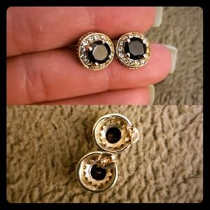 Genuine Garnet Earrings Studs